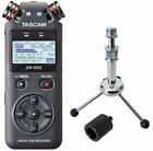 Tascam Dr-05x Recorder Dictaphone + Keepdrum Tripod Tripod + Tripod Adapter