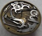 Old Repeater Key wind Verge Fusse pocket watch movement 47 mm. balance Ok.
