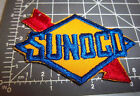 RARE 1960s SUNOCO service station Embroidered Patch, NEW & UNUSED patch