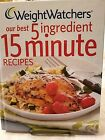 2011 Weight Watchers 5 Ingredient 15 Minute recipes Hardback cookbook pictures