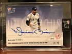 2019 TOPPS NOW #OS64B MARIANO RIVERA AUTO #15 49 FIRST UNANIMOUS HOF