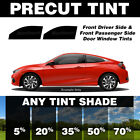 Precut Window Tint for Geo Storm Hatchback 90 93 Front Doors Any Shade
