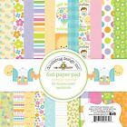 Scrapbooking Crafts Doodlebug 6X6 Paper Pad Simply Spring Bees Sun Flowers Frogs