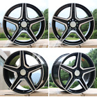 NEW 19 C63 AMG BLACK WHEELS RIMS FITS MERCEDES BENZ CLK CLASS CLK350 500 CLK55