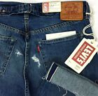 Levis 501 XX Big E Selvedge Cinch Back Jeans Cropped Vintage Men Sz 32 A4 7