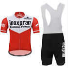inoxpran Cycling Jersey Retro Road Pro Clothing MTB Short Sleeve Bike DIY