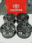 TRD RIM SET 4 BLACK FITS 4 RUNNER FJ CRUISER TACOMA TOYOTA PTR20 35110 BK