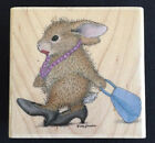 FANCY PANTS NEW STAMPABILITIES HOUSE MOUSE wood mounted rubber stamp 2006 HTF