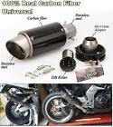 36-51mm 100% real carbon fiber Slip-On motorcycle exhaust muffler with DB killer