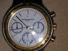 vacheron constantin automatic chronograph watch with box papers