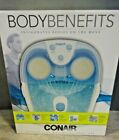 Conair Body Benefits Active Life Waterfall Foot Spa with Lights