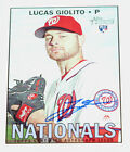 2016 Topps Heritage High Number Baseball Cards 62