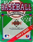 New1990 Upper Deck Baseball Cards High Number Series Box Factory Sealed 701-800