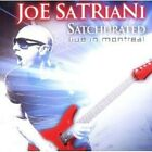 JOE SATRIANI - SATCHURATED: LIVE IN MONTREAL 2 CD ROCK 25 TRACKS++++ NEW+