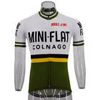 COLNAGO MINI FLAT Retro Cycling Jersey Road Bike Clothing MTB