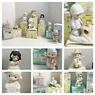 Lot of 8 PRECIOUS MOMENTS Figurines All WITH BOXES HEART BIRTHDAY GOD BOX GIFT