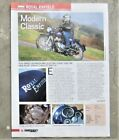 ROYAL ENFIELD 350 500 BULLET Motorcycle Magazine Test Ride Review Advertisement
