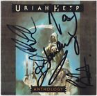 URIAH HEEP Anthology LEE KERSLAKE John Lawton Box +1 Easy Livin Autograph SIGNED