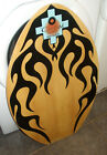 Tribal Surf Skimboard With Hotrod Flames 30