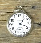Antique 1924 Hamilton Pocket Watch, 14k GF Case, 16s, 21 Jewel, Railroad Grade