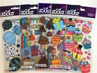 Birthday Scrapbooking Stickers Lot Sticko EK Success Balloons Cupcakes Cards