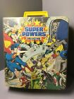 Kenner SUPER POWERS Action Figure Collector CARRYING CASE Vintage 1984 DC Comics
