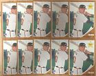 2011 Topps Heritage #76 Freddie Freeman 10 Card Lot Rookie Card Atlanta Braves