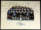 1967 Stanley Cup Champion Toronto Maple Leafs Team Signed 30th Anniversary Photo