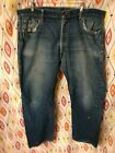 Vtg 50s LEVI 505 Jeans Big E single stitch redline A Type 40 x 30 button K