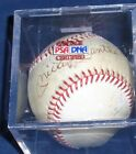 Mickey Mantle Autographed Baseball PSA DNA RARE Red Stitching Low COA #A01141