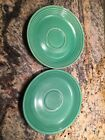 Vintage Light Green Fiesta Bread And Butter Plate. Lot Of 2