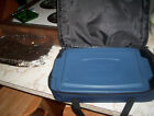 ANCHOR HOCKING 9 BY 12 COVERED CASSEROLE /BAKING DISH WITH LID AND CARRYINGCASE