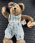 BOYD'S BEARS MACY SUNBEARY STYLE #911952 WITH ITTY BITTY DUCK TJ'S BEST DRESSED