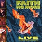 FAITH NO MORE - LIVE AT THE BRIXTON ACADEMY CD POP NEW+