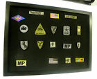 Patches Cabinet Board for Military / Boy Scout / Harley Davidson / Army Patches
