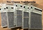 Creative Expressions 3D EMBOSSING FOLDERS Collection 575X75 You Choose