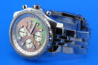 Breitling Bentley Special Edition Mother Of Pearl Diamond Face Watch A13362
