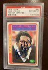 Gene Upshaw 1978 Topps #90 PSA DNA Autographed card signed Oakland Raiders