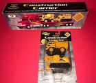 2002 Sunoco Construction Carrier Brand New In Box With Rare Add On Trucks