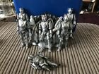 Dr Who Cyberman 5 Inch Figure Bundle Controller Throne