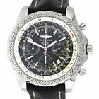 Breitling A25362 For Bentley Stainless Steel Gray Dial Gents Watch