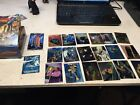 1996 Topps Star Wars Finest Series 1 Lot Of 18 Cards And Box