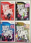 Wii Just Dance 4 Game Lot (I)