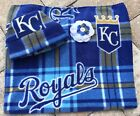 Kansas City Royals Fleece Newborn Infant Baby Receiving Blanket