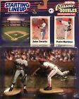 2000 CLASSIC DOUBLES STARTING LINEUP JOHN SMOLTZ PEDRO MARTINEZ SLU RED SOX