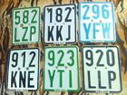 6 x German Moped License Plate Kreidler Hercules Vespa Zndapp 1986 2017 50ccm