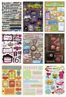 Karen Foster Cardstock STICKERS for Scrapbooking HOLIDAYS SPORTS FAMILY