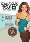 Leslie Sansone WALK AWAY THE POUNDS FOR YOUR WEEK DVD workouts WITH BAND NEW