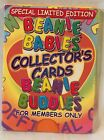 Ty Beanie Baby Special Limited Edition Collector Cards set
