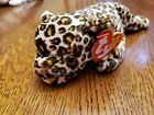 TY Beanie Baby Freckles The Jaguar With Tags Plush 1996 Retired Stuffed Animal